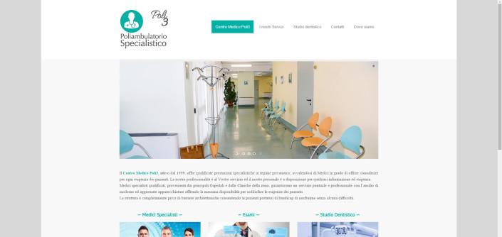Realizzazione sito internet Poliambulatorio Dolzago Lecco
