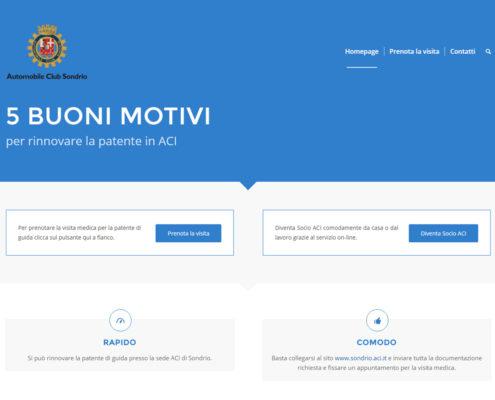 Automobile Club Sondrio - Rinnovo patenti Sondrio