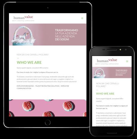 Siti web responsivi a Milano, Bergamo, Roma e Bologna